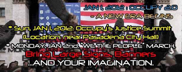 Occupy the Rose Parade