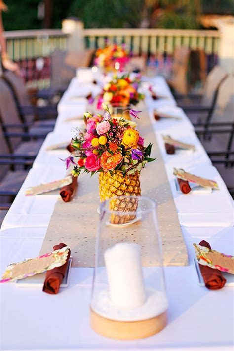 A Caribbean Birthday Dinner!   Wedding Inspiration