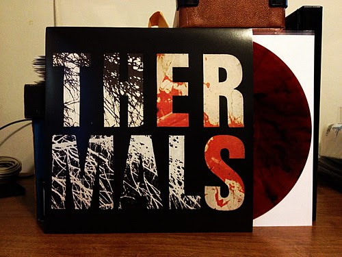 The Thermals - Desperate Ground LP - Red w/ Smoke Vinyl (/500) by Tim PopKid