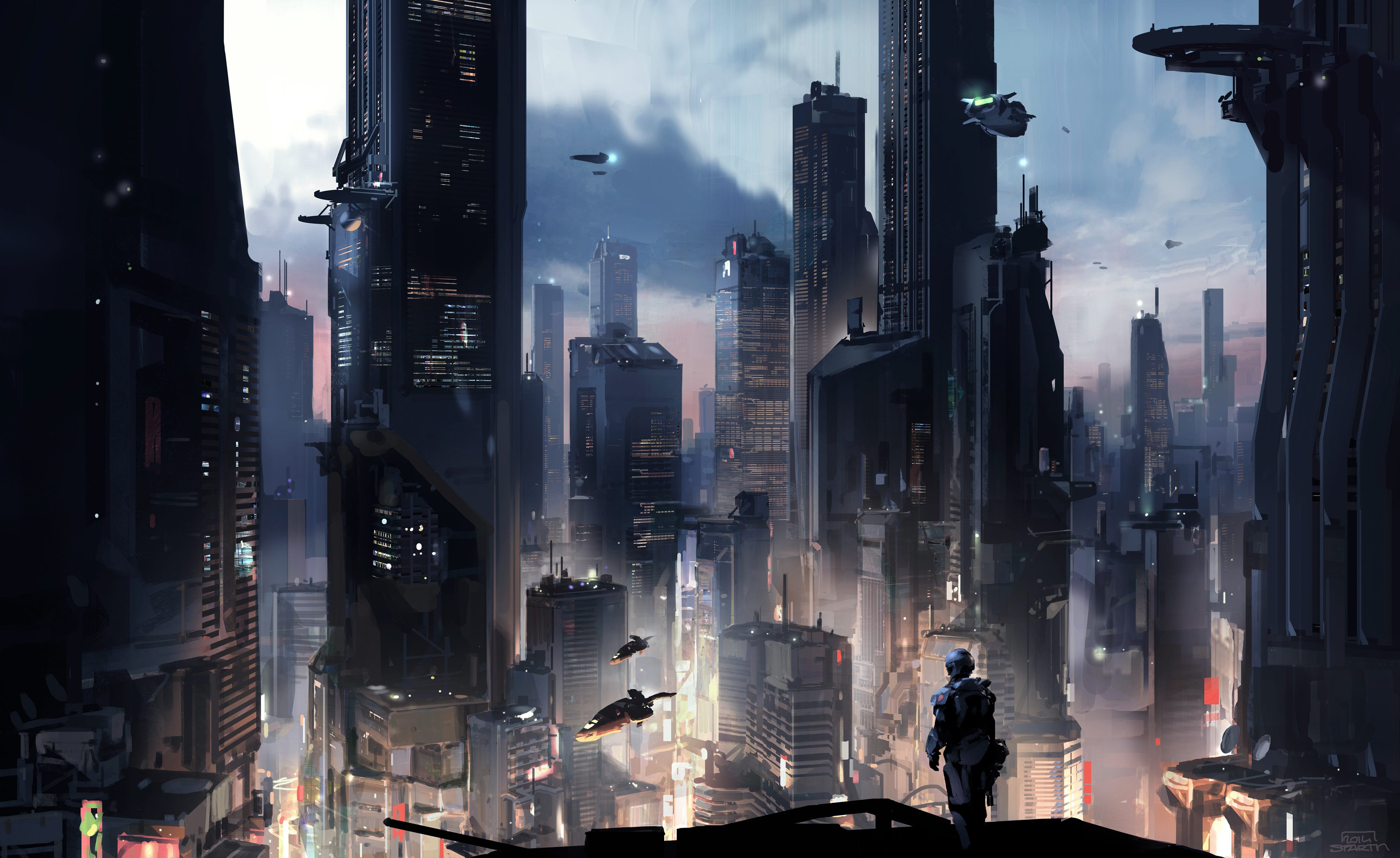 """Halo 5"" concept art - Business Insider"