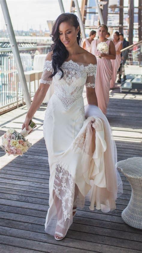 Pallas Couture Amarante Second Hand Wedding Dress on Sale