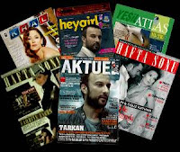 Tarkan has been making appearances in various Turkish magazines since the release of his 2007 album