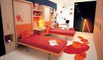Fresh Orange Teen Bedroom Interior Ideas. Part of Bedroom ...