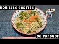 Recette Soupe Nouille Chinoise