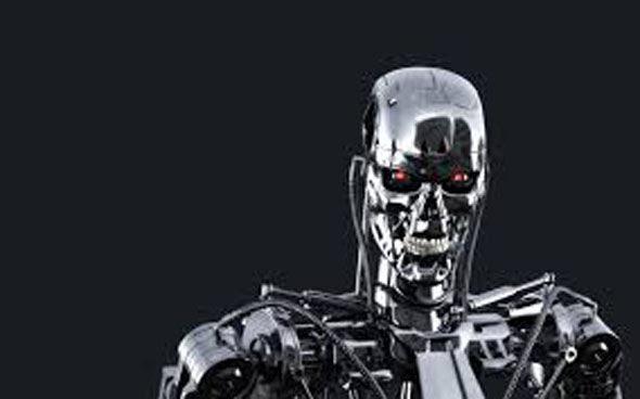 Beneath the human exterior the terminators were all robot