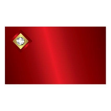 Diamond Logo Business Card