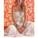 La Gitana Bohemian Gypsy Maxi Dress