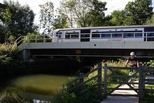 Roydon Rail Bridge, River Stort