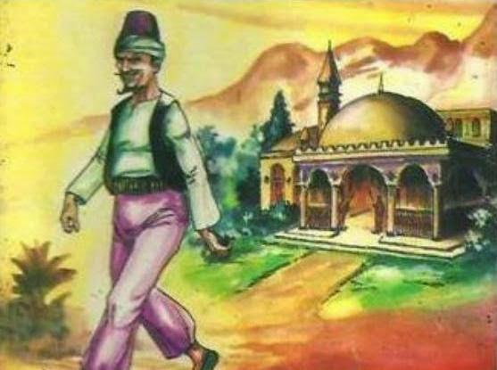 Abunawas Memindahkan Sebuah Masjid