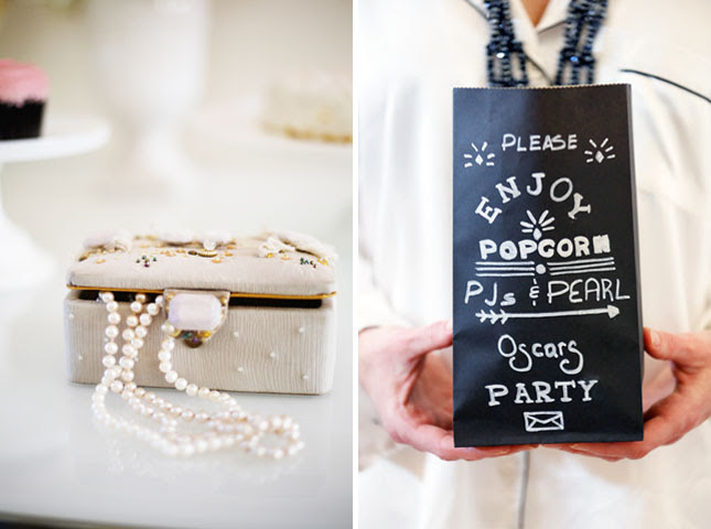 How to Throw a PJs & Pearls Oscar Party | Brit + Co.