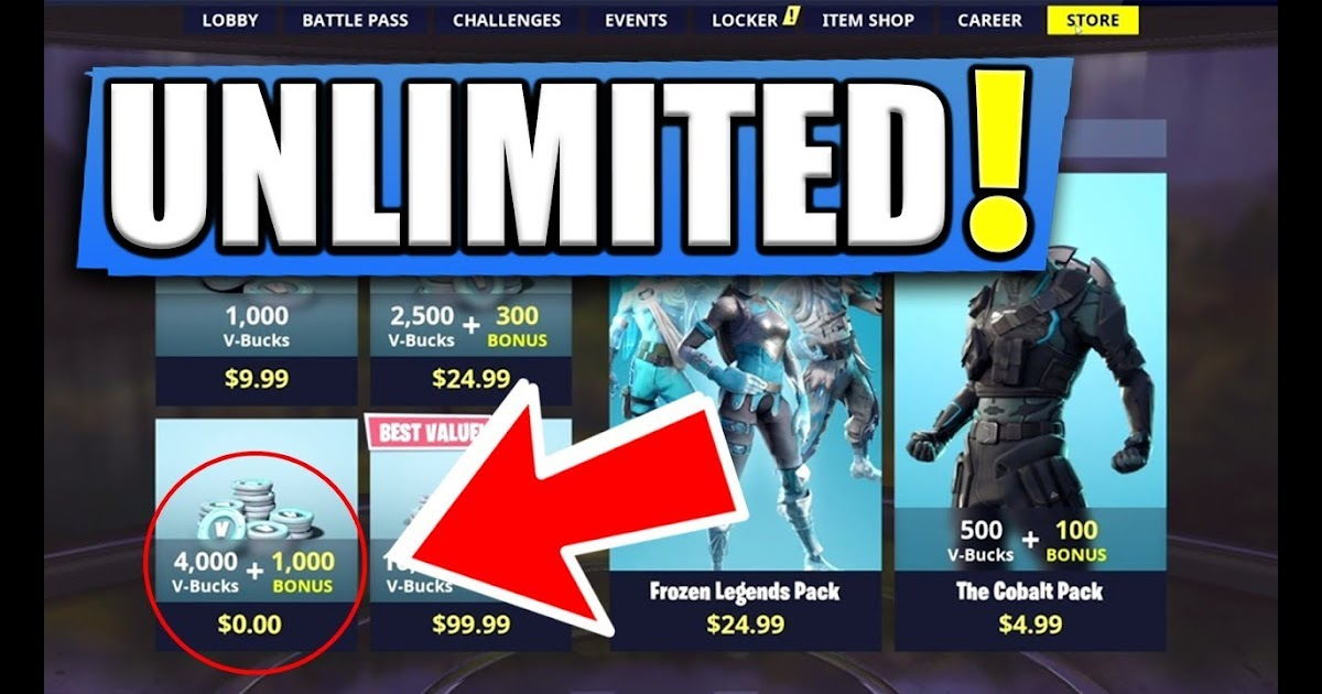 Free V Bucks Glitch Pc 2019 | Fortnite Skin Generator Free ...