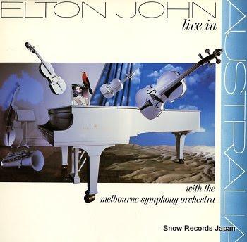 JOHN, ELTON live in australia