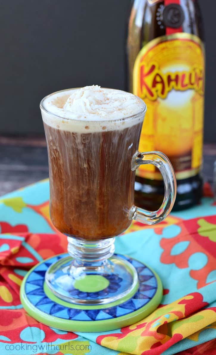 Mexican Coffee Cocktail - Cooking With Curls