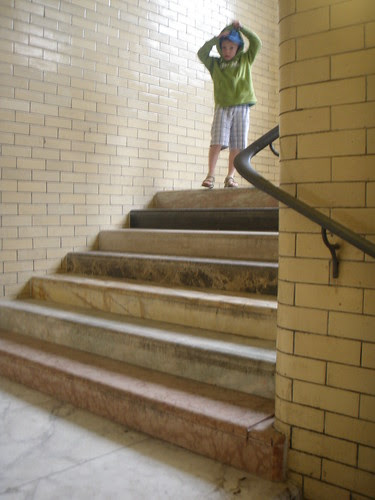 art fest - the scotsman steps