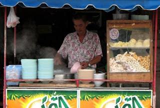 Noodle Stall, Prachuap Khiri Khan