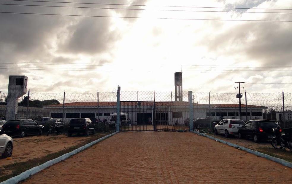 Penitenciária Estadual de Parnamirim, no RN (Foto: Ricardo Araújo/G1)