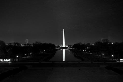 Washington  Monument with Vivitar 24mm f/2.8 Manual