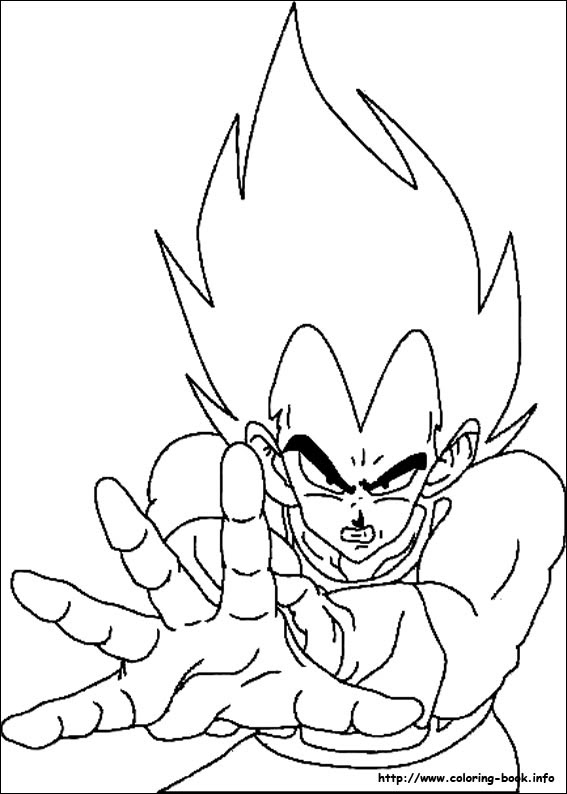 Draw Samples Goku Blue Coloring Page Easy Drawing