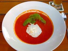 Tomatencremesuppe / tomato creme soup