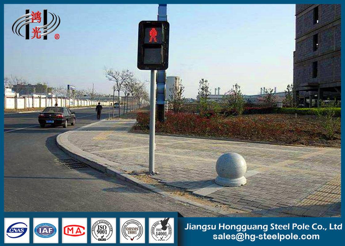 Sıcak Rulo çelik Trafik Poliçesi Direkleri Yaya Geçidi Için Trafik