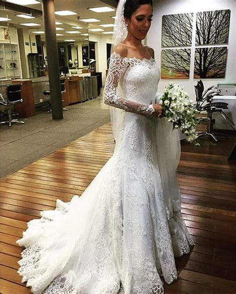 Vintage 2016 Mermaid Bohemian Lace Wedding Dresses With