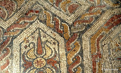 Mosaico romano en Asturias