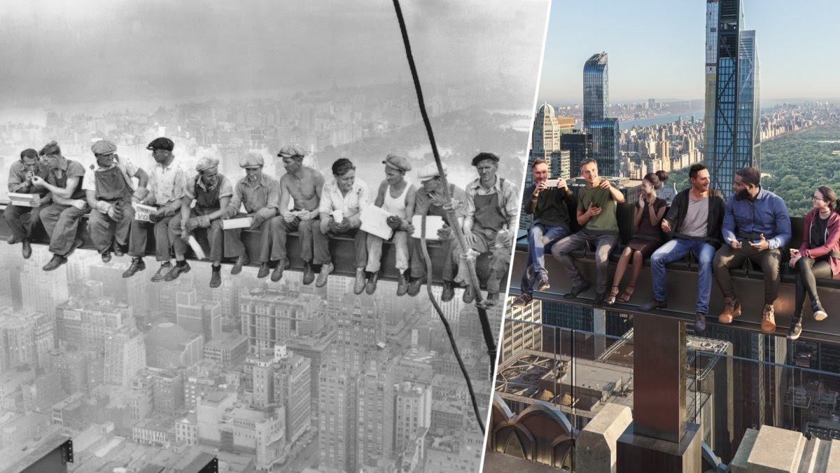 Lunch Atop of 30 Rock Could Become NYC's Latest Picturesque Attraction