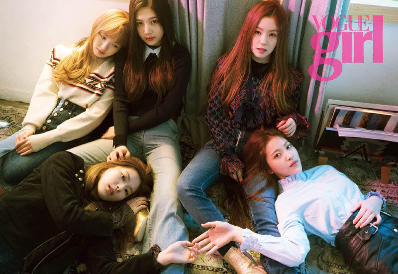 Red Velvet - Vogue Girl Magazine September Issue '15