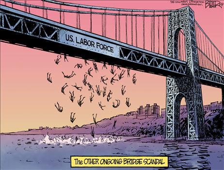 Cartoon Obama Unemployment 2