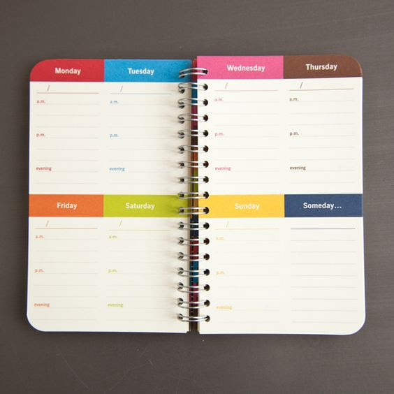 $  14 8 days-a-week planner   Stationary & Office Supplies ...