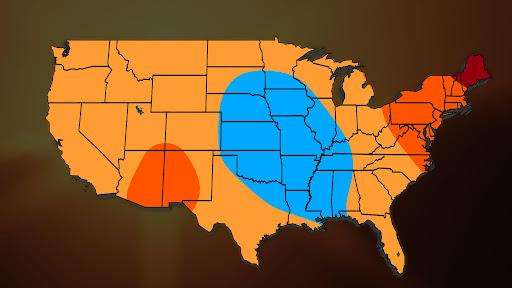 Avatar of August Temperature Outlook: Hot End to Summer Expected in Northeast, Milder in Central US