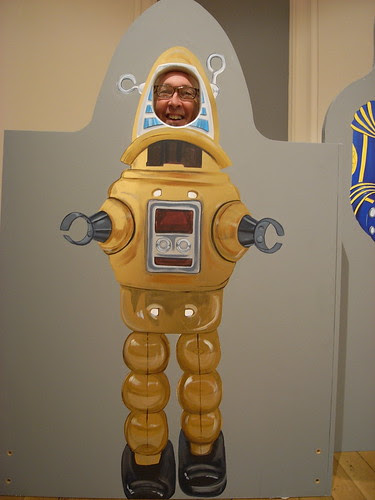 Me as Robby the Robot