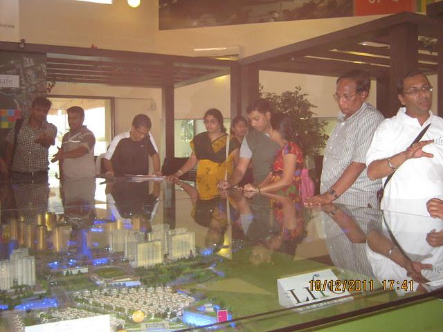Model of  Kolte-Patil Life Republic, Marunji - Hinjewadi, Pune 411 057