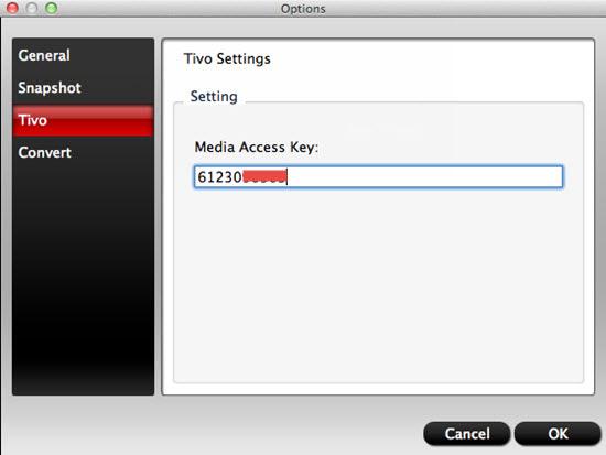 media access key