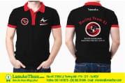 may áo công nhân đồng phục giá rẻ