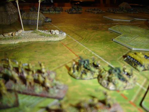 Japanese left flank readies advance - Battle near Beach Green 3