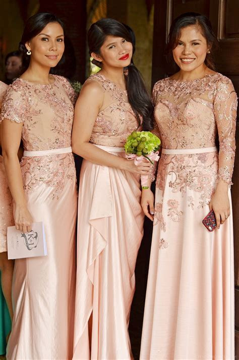 Left Gown idea for mama Lace Bridal Gown And Entourage By