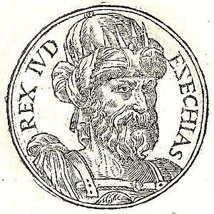 Ezechias-Hezekiah was the son of Ahaz and the ...