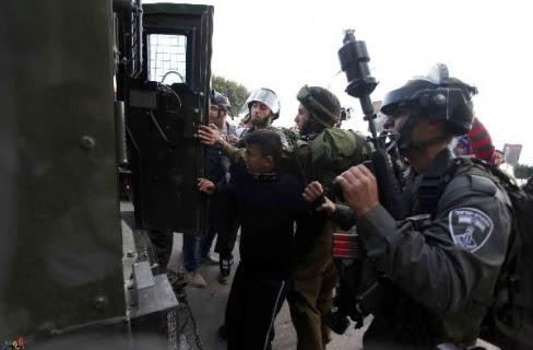 penangkapan warga palestina