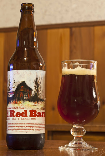 Review: Half Pints' Old Red Barn Sour by Cody La Bière
