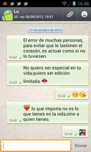 Wasap Frases Para Whatsapp Dia Del Amor