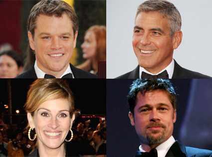 George Clooney And Brad Pitt Movies. Matt Damon, George Clooney,