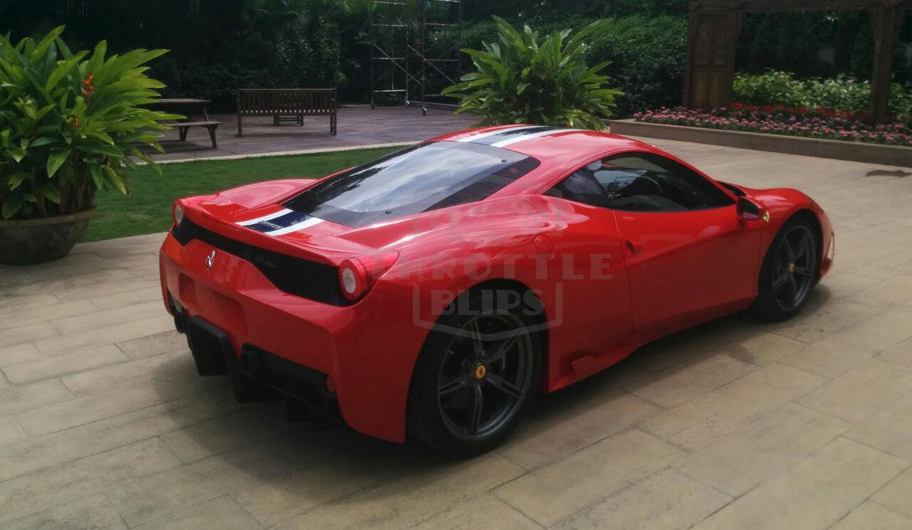 Indias First Ferrari 458 Speciale Supercar Arrives In