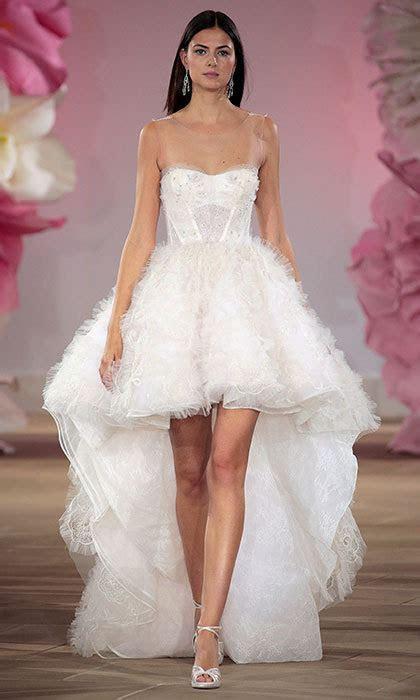 Short wedding dresses for the Spring/Summer 2017 bride