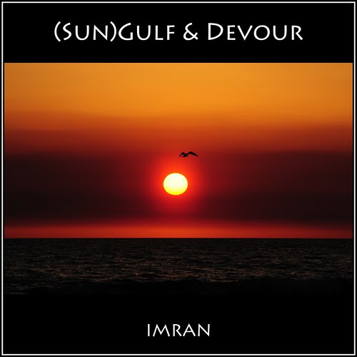 Haze Engulfs Gulf Sun, Bird Dives To Devour Prey At Sunset - IMRAN™ [SOOC] by ImranAnwar