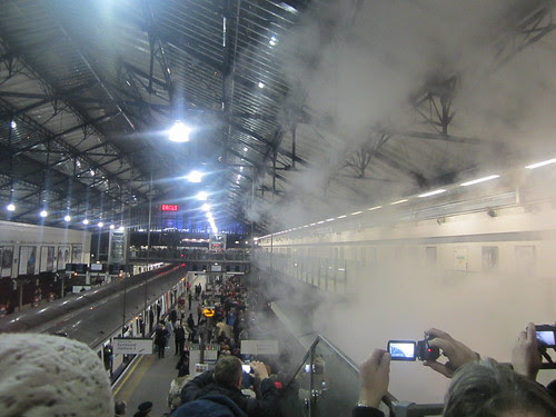 Steam Train at Earl's Court