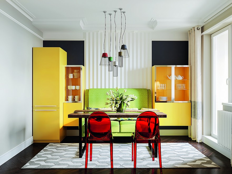 Image Result For Kitchen Design Yellow