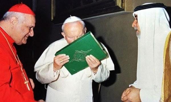 La apostasía de Juan Pablo II con los musulmanes