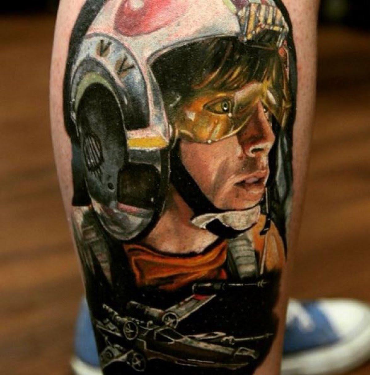 Celebrá El Starwarsday Con Alguno De Estos Tatuajes Fotogalería