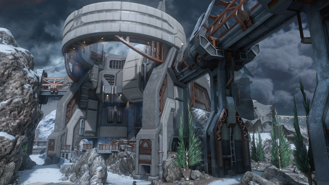 long bow  map halo 4